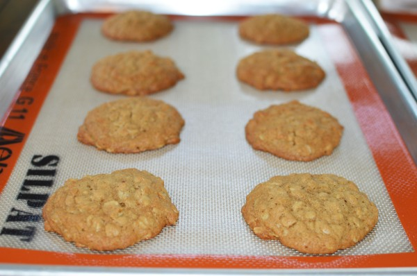 Brown Sugar Oatmeal Cookies