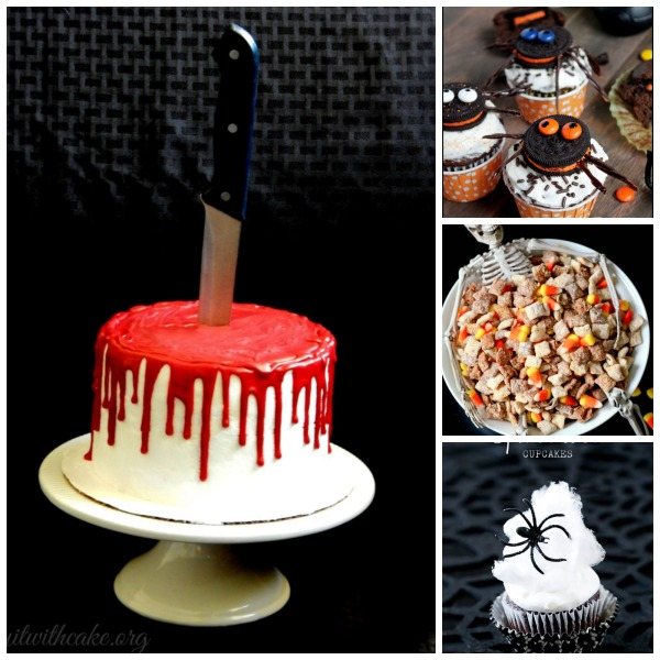 Halloween Recipe Ideas Collage