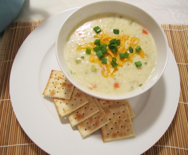 Creamy Cauliflower Soup 1